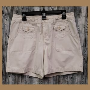 Cherokee Beige Cotton Shorts